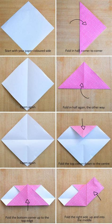 how to make an origami s make an origami kidspot