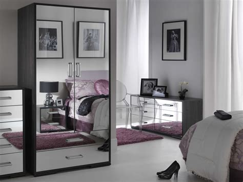 bedroom mirror furniture bedroom ideas white polished wood mirrored bedroom