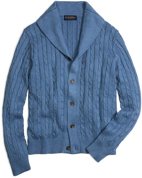 cable knit shawl collar cardigan brothers shawl collar cable knit cardigan where