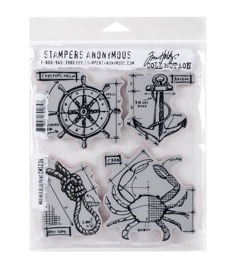 tim holtz rubber sts sters anonymous tim holtz mariner blueprint cling