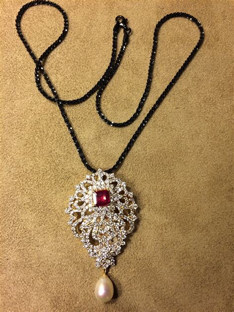 black jewellery small chains black or nallapusalu page 3