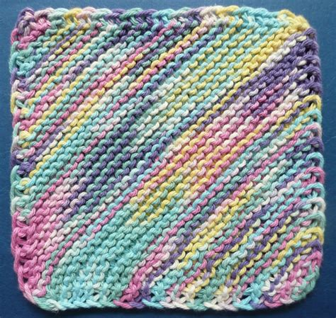 knit dishcloth pattern free one ounce dishcloth free patterns