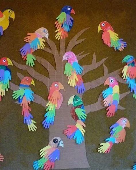 print crafts parrot handprint bird craft i these print craft