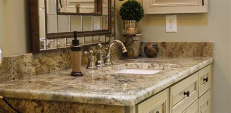 granite vanity tops for bathrooms 5 best bathroom vanity countertop options