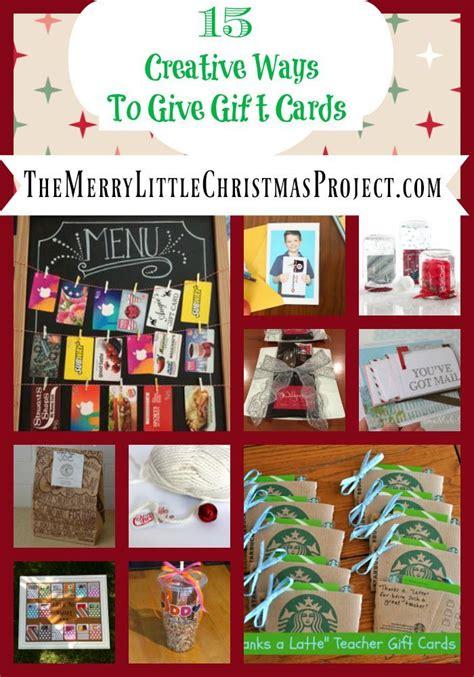 15 creative ways to give gift cards save more give