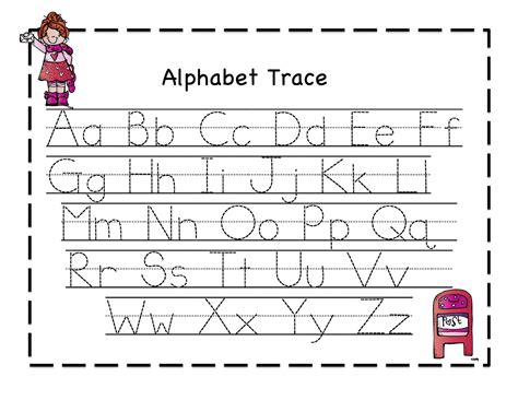 for printables worksheet free printable letter tracing wosenly free