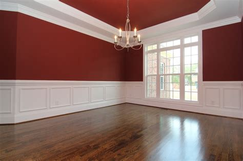 pictures of wainscoting in dining rooms dining room with wainscoting traditional raleigh by