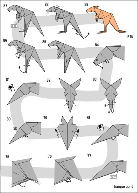 origami kangaroo the world s most recently posted photos of kangourou and
