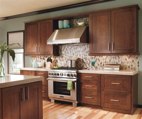 contemporary kitchen cabinets for a contemporary cherry kitchen cabinets decora cabinetry