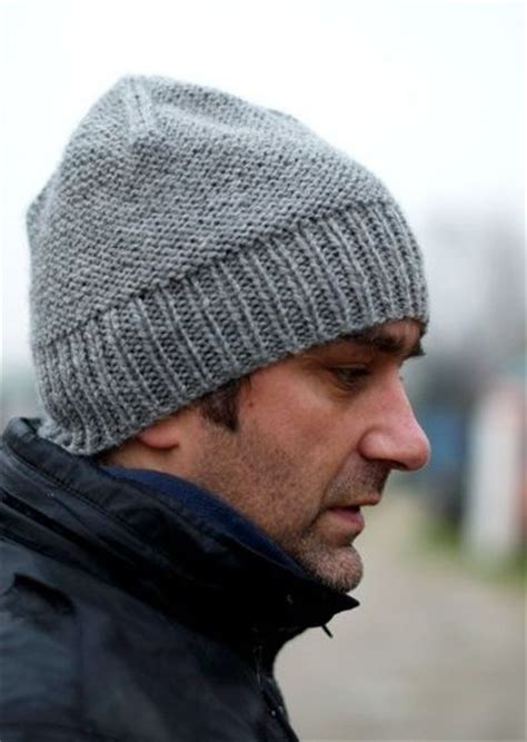 free knitting pattern mens beanie free mens beanie hat knitting pattern knits and kits