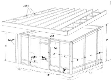 porch building plans build a screened in porch or patio how to