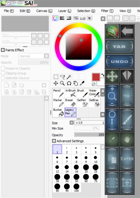 paint tool sai square brush exclusive surface pro artist artdock makes photoshop a