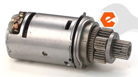 18v Electric Motor by Drill Repair Replacing The Motor And Pinion Dewalt Part