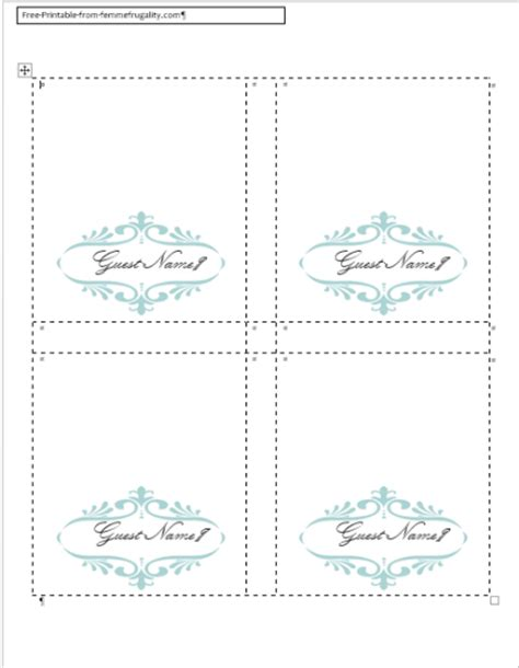 make your own cards free templates how to make your own place cards for free with word and