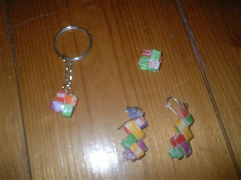 paper craft earrings starburst earrings 183 how to make a pair of wrapper
