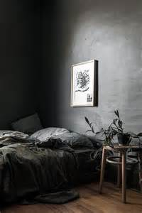 grey wall bedroom 26 moody bedroom designs that catch an eye digsdigs