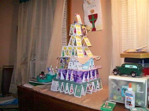 how do you make a card tower how to build a card house