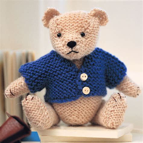 knit teddy teddy pattern easy steps to knit a teddy