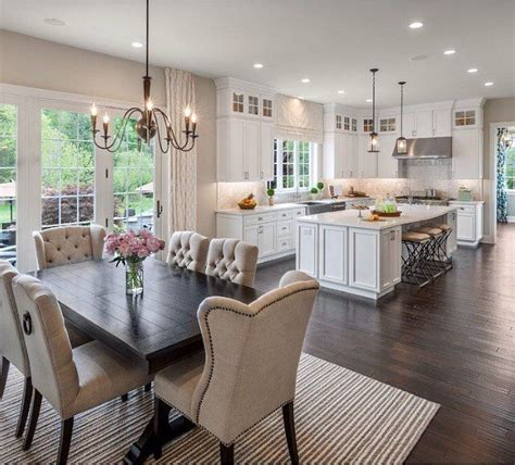 kitchen table in living room best 25 open concept kitchen ideas on open