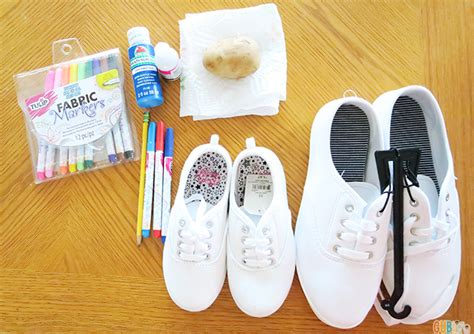 can you use acrylic paint on canvas shoes memorial day craft diy patriotic canvas shoes gublife