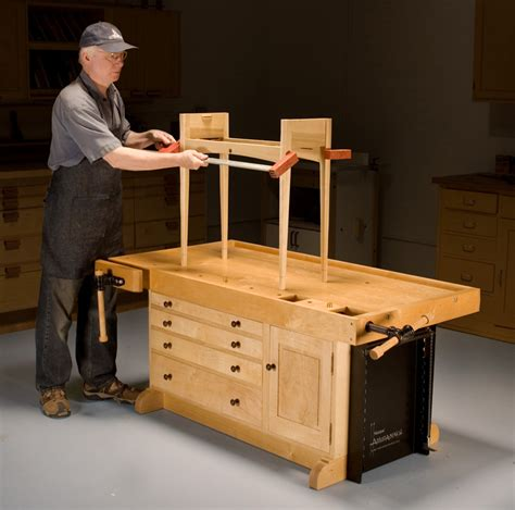 popular woodworking workbench aw adjustable workbench popular woodworking magazine
