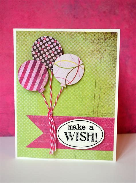 make wish charity cards make a wish happy birthday card scrapbook