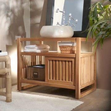 meuble salle de bain en bois pas cher meuble d 233 coration maison