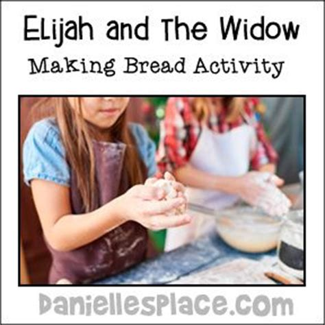 elijah and the widow crafts for elijah and the widow bread activity from www