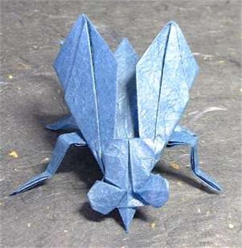 origami fly origami flies gilad s origami page