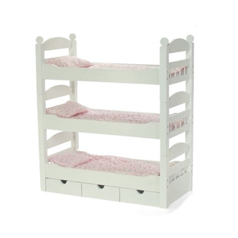 18 doll bunk bed 18 inch doll furniture stackable bunk bed with