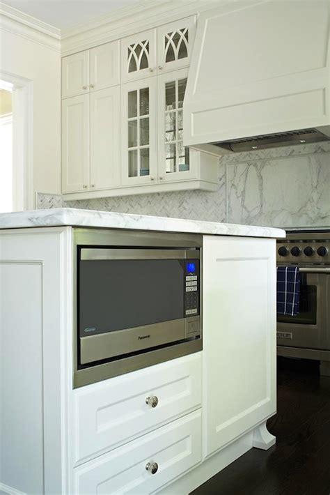 kitchen island with microwave kitchen island microwave nook transitional kitchen hepfer designs