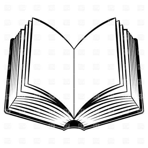outline picture of a book open book outline clipart free clipart images 2 clipartix