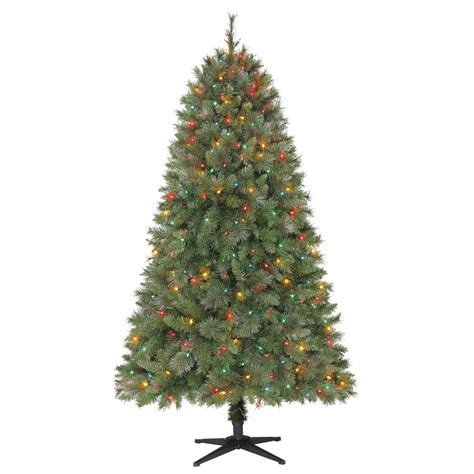 multi colored pre lit tree multi colored pre lit tree deck the halls with
