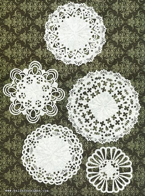 paper punch craft designs diy doilies use punches to cut out the designs in folded
