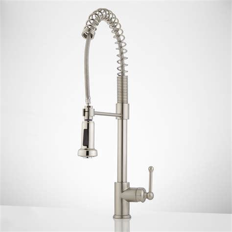 kitchen faucets pull pull kitchen faucet with spout