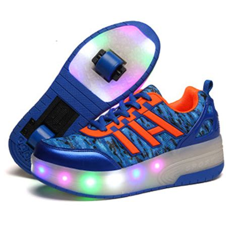 lights for boys new wheel shoes with lights for boys led light up