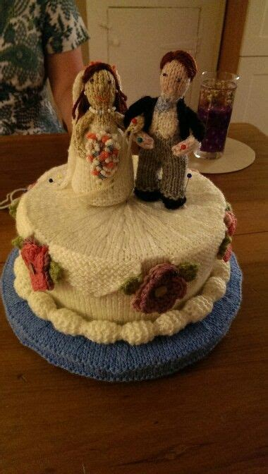 knitted wedding cake 17 best images about cakes on 70th birthday