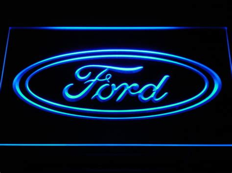 Ford Sign by Quot Ford Quot Led Neon Light Sign Kleur Blauw Catawiki