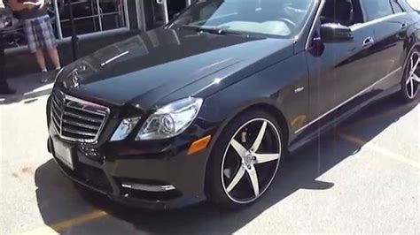 Mercedes E350 Rims by Hillyard Custom Tire 2013 Mercedes E350 Bluetec