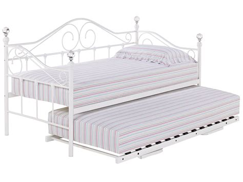 trundle bed metal frame metal day bed daybed frame and trundle guest underbed