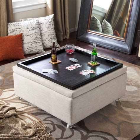 coffee table with storage ottoman best 25 ottoman with storage ideas on diy