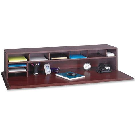 top of desk organizer safco low profile desktop organizer