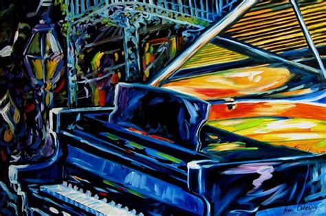 jazz piano new orleans by marcia baldwin from abstracts
