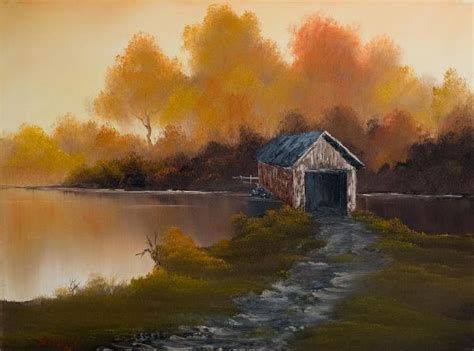 bob ross painting original for sale bob ross bridge to autumn paintings for sale bob ross