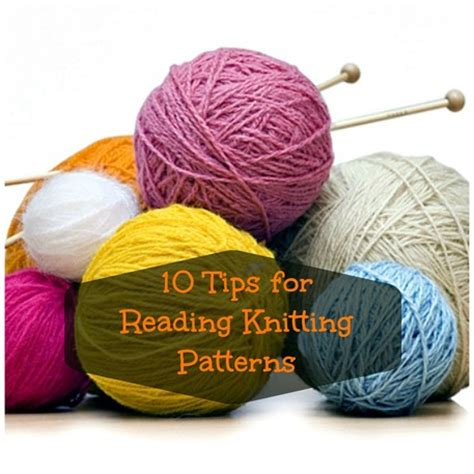 reading knitting patterns 10 tips for reading knitting patterns craftfoxes