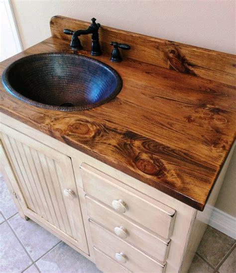 copper bathroom vanity rustic bathroom vanity copper sink bronze