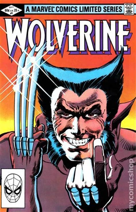 picture of a comic book wolverine 1982 limited series comic books