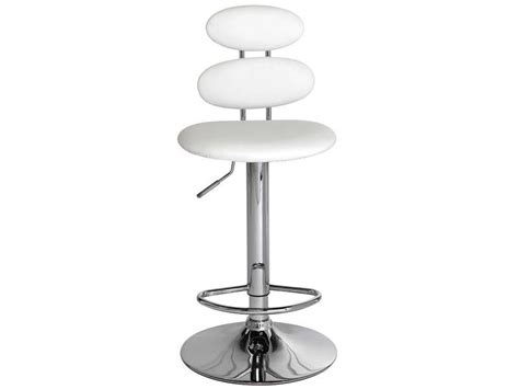 tabouret de bar circle coloris blanc vente de bar et tabouret de bar conforama