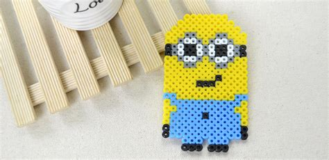 how to make perler bead perler minion family crafts
