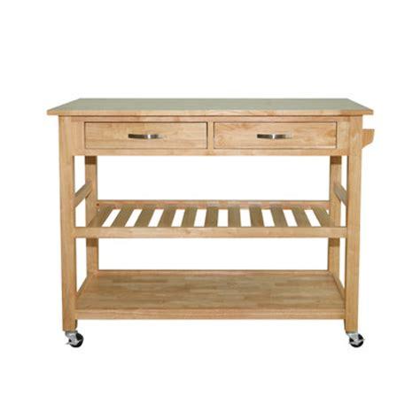 solid wood kitchen island buy solid wood top kitchen island cart finish
